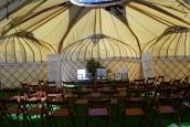 Multi Yurt cover inside (Toby Fairlove Frame)