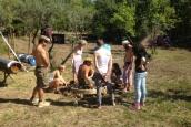 Yurt Makers' Heart Event: Making the Wheel