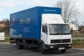 Mercedes 814 camper truck