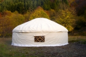 21' Yurt in Tuscany, Italy