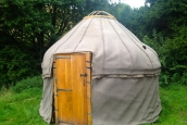 12' Afghan Yurt Felt Lining