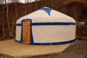 Turkmen Yurt at Graig-Wen, Snowdonia