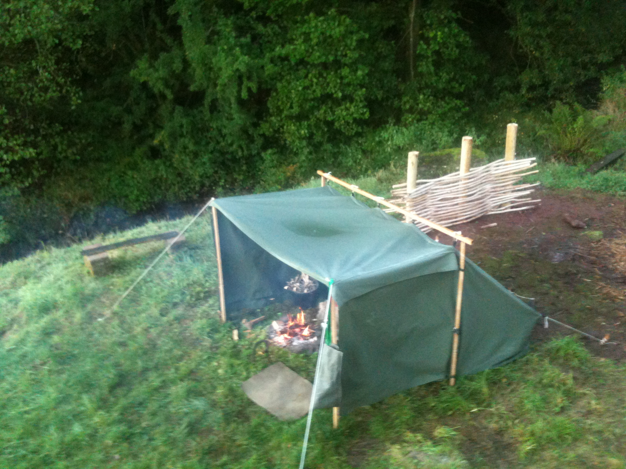 I M Making Poles For It That Will Allow Me To Use As A Baker Type Tent