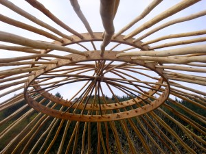 concentric yurts