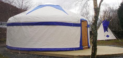 yurt campsite