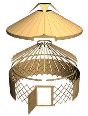 how to make a yurt tonu