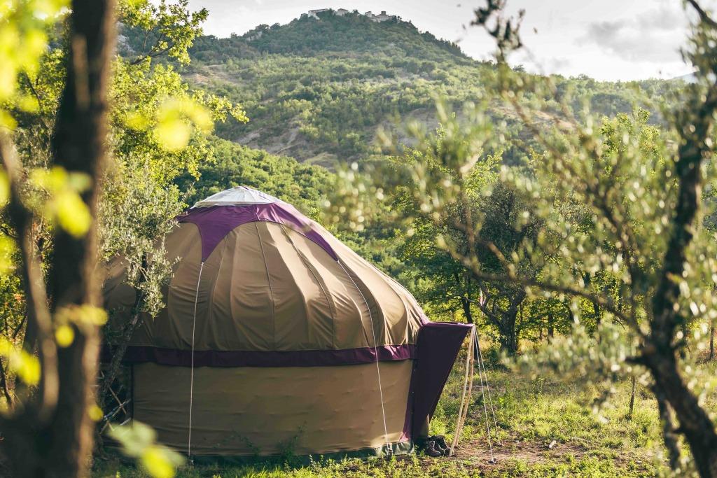 yurt campsite Italy
