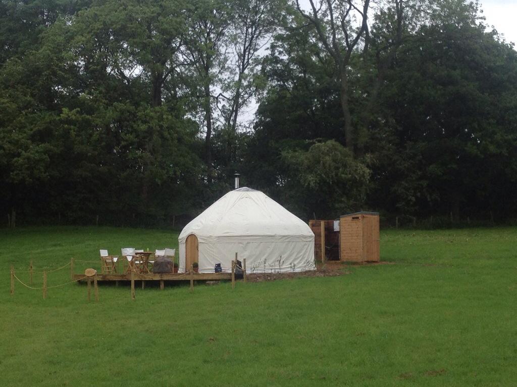Yurtshire yurt cover