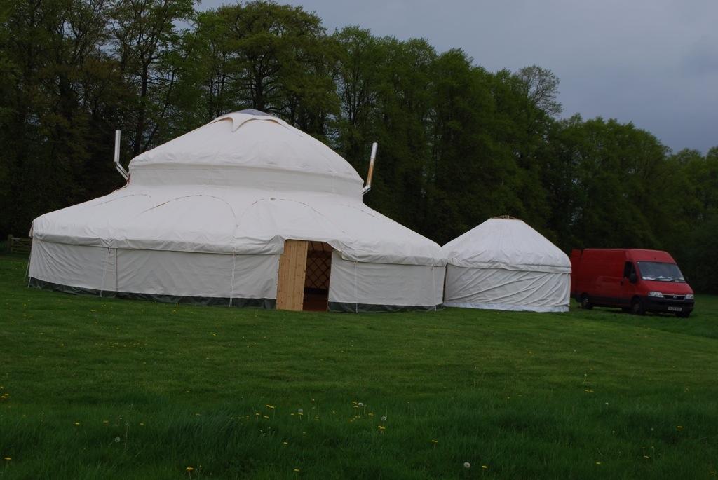 Henry Dowell yurt palace