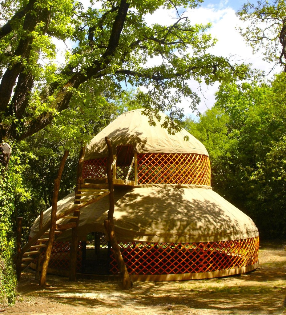 Two storey Yurt France