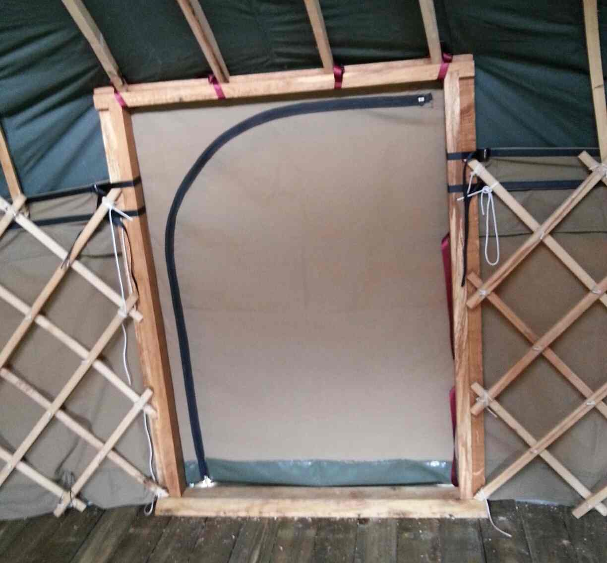yurt canvas door & Yurt Canvas Doors |