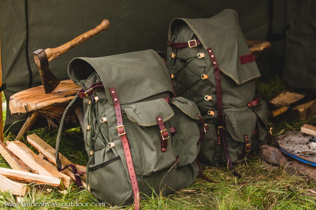 Bushcraft packs