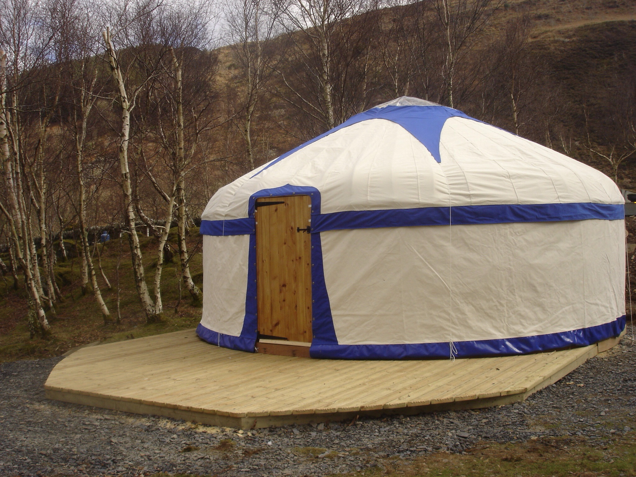 Perfect yurt cover