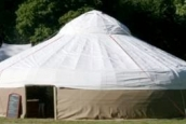 42' yurt cover for Red Kite Yurts