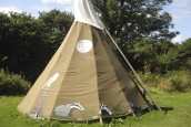 Night Tipi, Cornish Tipi Holidays