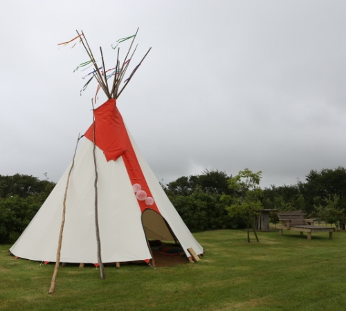 Wedding Tipi, Cornish Tipi Holidays