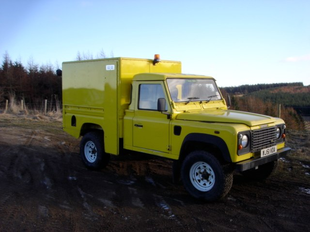 Defender expedition vehicle