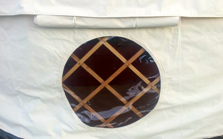 Round Yurt Window