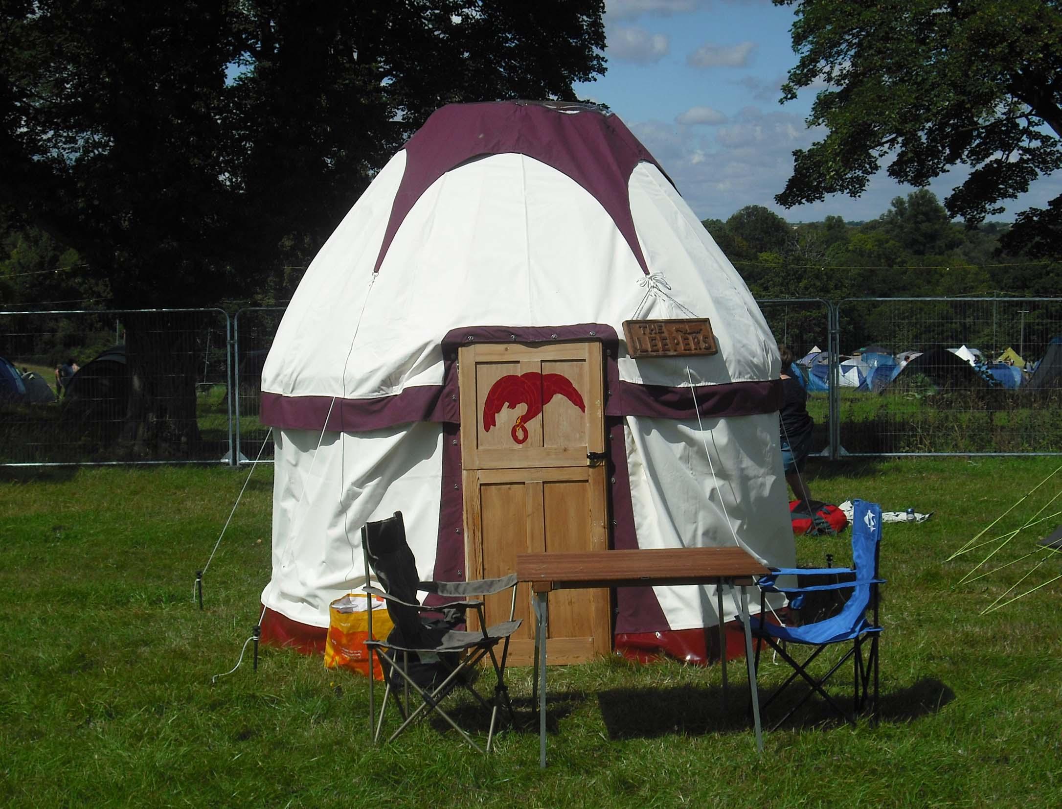 8' Hobbity Yurt (Elaine's frame)