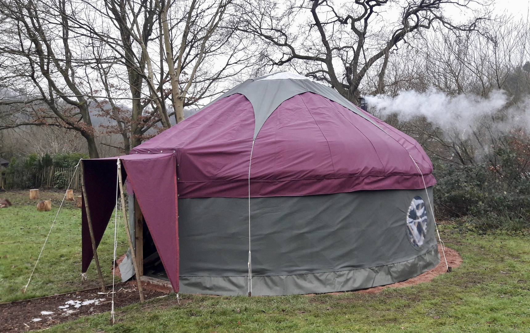 16' Yurt Cover for Underwood Crafts
