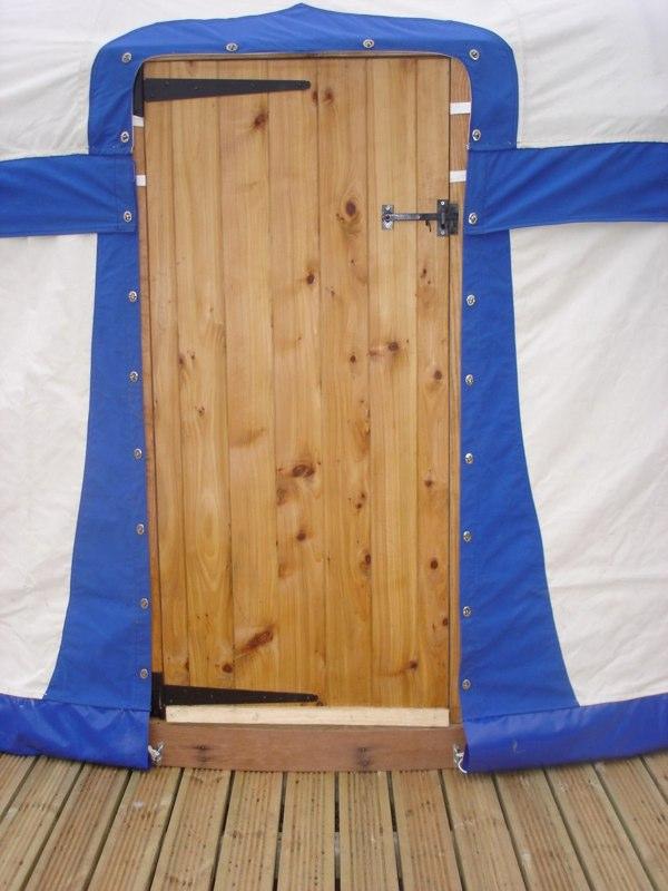 Yurt Door detail