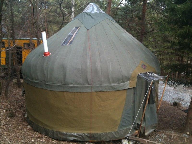 Our Afghan Yurt, Hungary