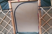 Canvas Zipped Door (26' frame by Underwood Crafts)