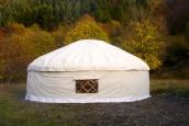 21' Yurt in Tuscany, Italy