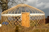 Turkmen Yurt Frame, Wales