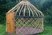 12' Afghan Yurt Frame (Double Bend Roof)