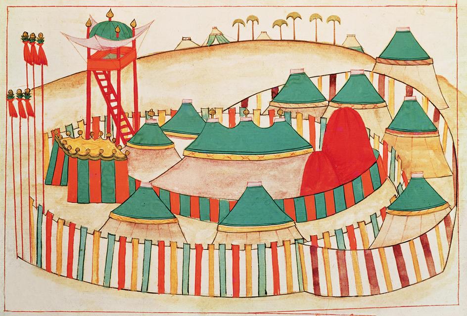 Crimson yurt