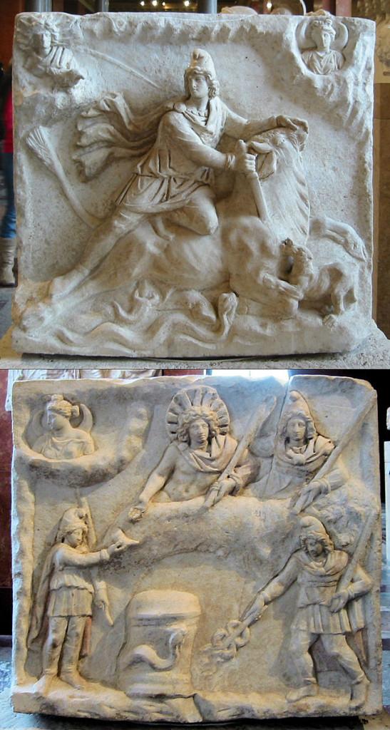 Mithra Relief vert