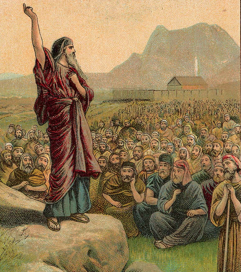 Moses Giving Law