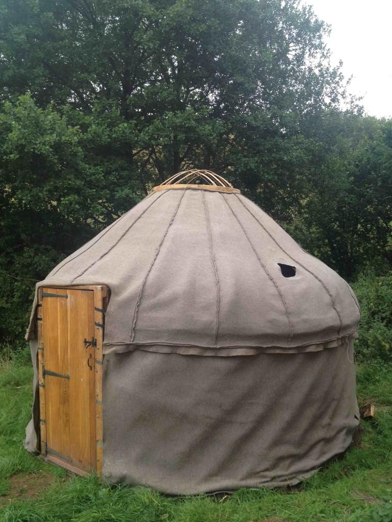 Firuzkhui yurt felt lining
