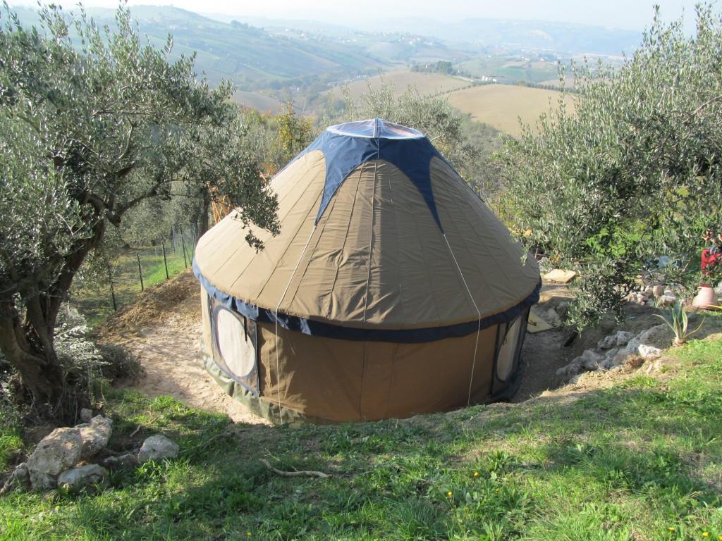 yurt in abruzzo