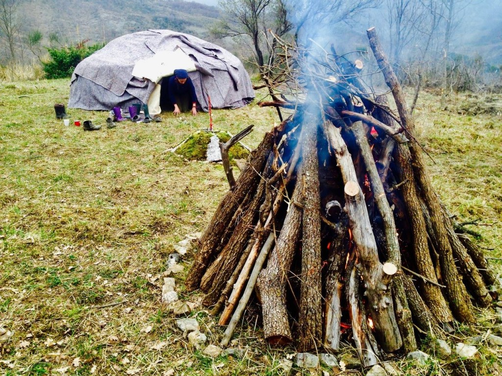 Sweat Lodge in Italy