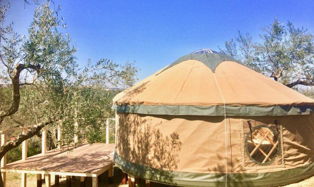 yurts italy